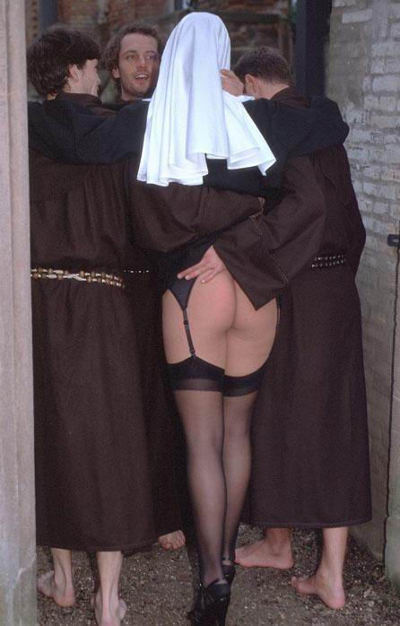 Monks fucking a hot nun